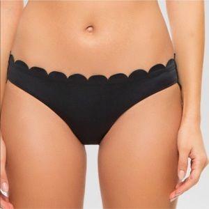 New scalloped swim bottom